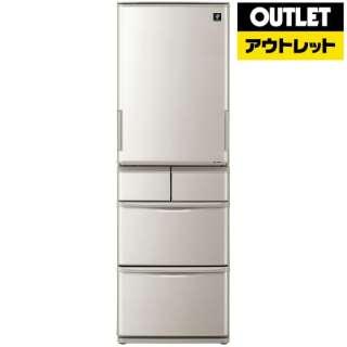 【アウトレット品】 SJ-W412D-S 冷蔵庫 プラズマクラスター冷蔵庫 シルバー [5ドア /左右開きタイプ /412L] 【生産完了品】