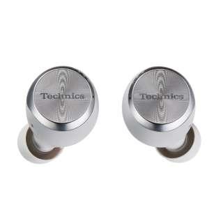 フルワイヤレスイヤホン シルバー EAH-AZ70W-S[リモコン・マイク対応 /ワイヤレス(左右分離) /Bluetooth/ノイズキャンセリング対応]