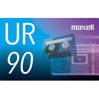 オーディオカセットテープ90分1巻 UR-90N