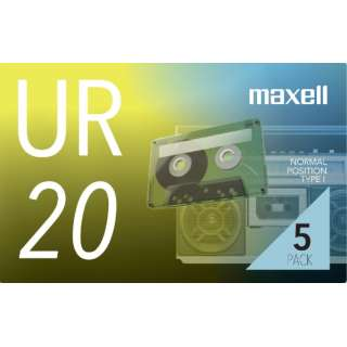 オーディオカセットテープ20分5巻パック UR-20N5P