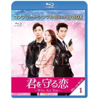 君を守る恋~Who Are You~ BD-BOX1 <コンプリート・シンプルBD-BOX6,000円シリーズ> 【ブルーレイ】