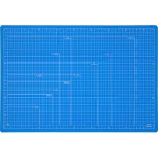 折りたたみカッティングマットA3 スカイブルー CTMOA3SB
