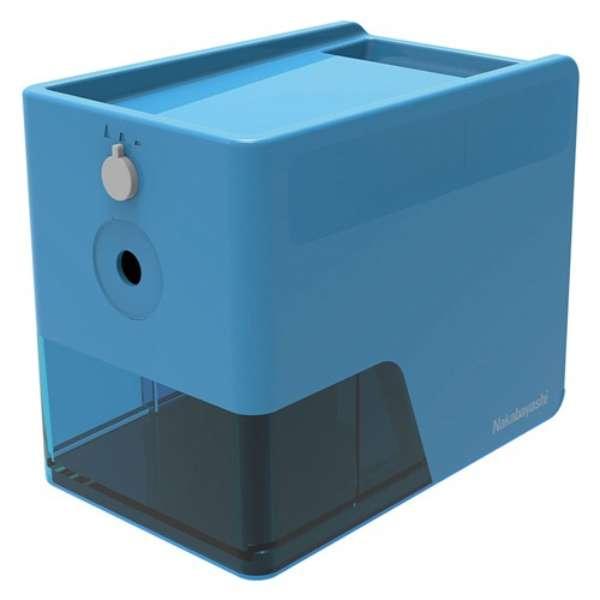 電動鉛筆削りスリムトレータイプ/ブルー DPS601KB