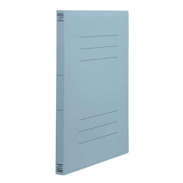 PP製フラットファイル A4S ブルー フF-PP80B