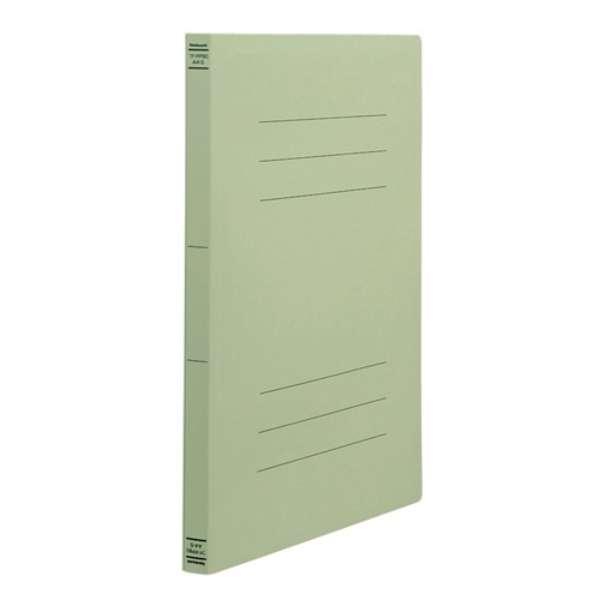 PP製フラットファイル A4S グリーン フF-PP80G