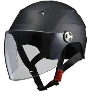 RICH BIT 男女共用 開閉シールド付きハーフヘルメット AIR ZERO(マットブラック) RT0000004