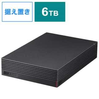 HD-CD6U3-BA 外付けHDD ブラック [据え置き型 /6TB]