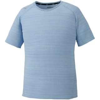 メンズ ドライエアロフローTシャツ(Mサイズ/エーテルブルー) 32MA0061