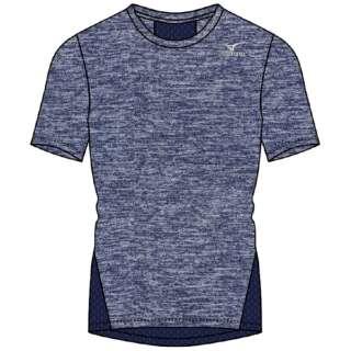 メンズ 半袖シャツ(XLサイズ/ディープネイビー) K2JA0110