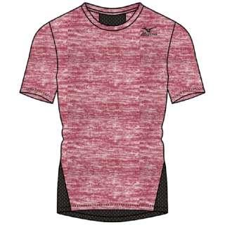 メンズ 半袖シャツ(Mサイズ/Pレッド) K2JA0110