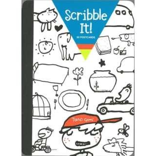 【バーゲンブック】Scribble It! 30 POSTCARDS
