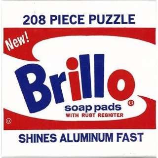 【バーゲンブック】Brillo 208PIECE PUZZLE-Andy Warhol