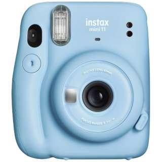 インスタントカメラ 『チェキ』 instax mini 11 スカイブルー