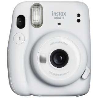 インスタントカメラ 『チェキ』 instax mini 11 アイスホワイト