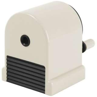 鉛筆削り[手動式] ペンシルシャープナー ウィッティ・パーティ シリーズ ホワイト WP-130N