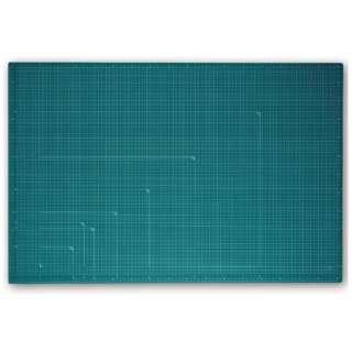 カッティングマット カラータイプ 両面使用 [900x600x2.5mm] グリーン CS-A1