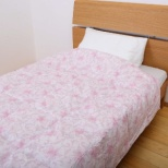 昭和西川のウォッシャブルダウンケット FF0206[シングル(150×210cm) /夏用 /ホワイトダックダウン50% /ピンク]
