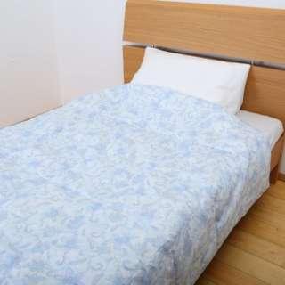昭和西川のウォッシャブルダウンケット FF0206[シングル(150×210cm) /夏用 /ホワイトダックダウン50% /ブルー]