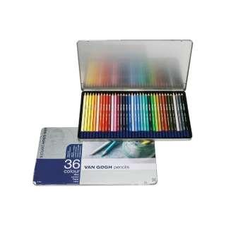 ヴァンゴッホ色鉛筆36色セット T9773-0036