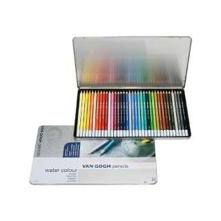 ヴァンゴッホ水彩色鉛筆36色セット T9774-0036