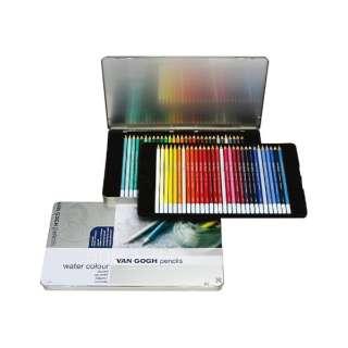 ヴァンゴッホ水彩色鉛筆60色セット T9774-0065
