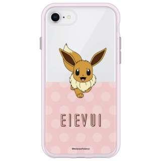 ポケットモンスター IIII fit Clear iPhone SE(第2世代)4.7インチ/8/7/6s/6対応ケース イーブイ POKE-642B