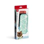 Nintendo Switchキャリングケース あつまれ どうぶつの森エディション ~たぬきアロハ柄~(画面保護シート付き) HAC-A-PSSAG