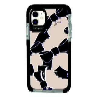 iPhone11 Ultra Protect Case Plune. リボン Hash feat.#F HF-CTIXIR-2P02