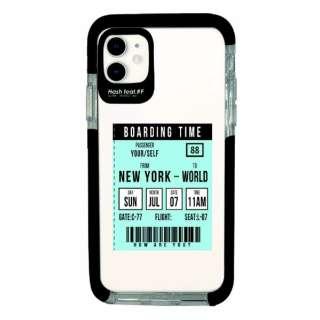 iPhone11 Ultra Protect Case Ticket-BLU Hash feat.#F HF-CTIXIR-2C03
