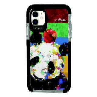 iPhone11 Ultra Protect Case NiJiSuKe パンダ Hash feat.#F HF-CTIXIR-2N02