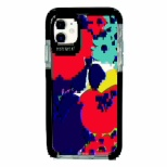 iPhone11 Ultra Protect Case Plune. お花たち Hash feat.#F HF-CTIXIR-2P01