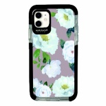 iPhone11 Ultra Protect Case Bloem Flower WHT Hash feat.#F HF-CTIXIR-2B01