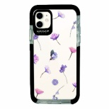 iPhone11 Ultra Protect Case Bloem purple flower-CLR Hash feat.#F HF-CTIXIR-2B05