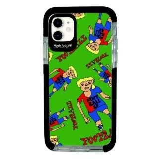 iPhone11 Ultra Protect Case DOKUTOKU FOOTBALL Hash feat.#F HF-CTIXIR-2D05