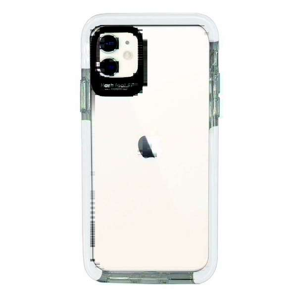 iPhone11 Ultra Protect Case White Hash feat.#F HF-CTIXIR-02WT