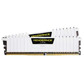 増設メモリ VENGEANCE LPX ホワイト CMK32GX4M2B3000C15W [DIMM DDR4 /16GB /2枚]