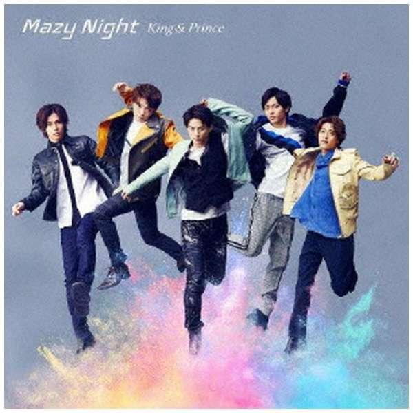 【特典付き】 King & Prince/ Mazy Night 初回限定盤B 【CD】