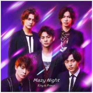 【特典付き】 King & Prince/ Mazy Night 通常盤 【CD】