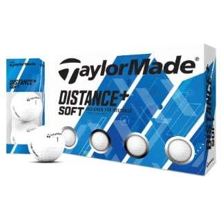 ゴルフボール Distance+Soft ホワイト [12球(1ダース) /ディスタンス系]