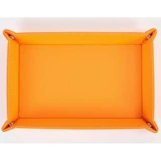 ボタントレー(オレンジ)840-572 OR