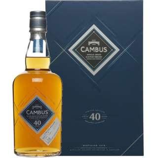 カンバス40年 1975年蒸留 700ml【ウイスキー】