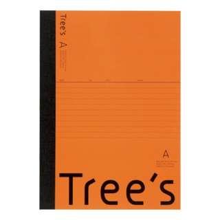 Trees B5 A罫30枚 オレンジ オレンジ UTR3AOR