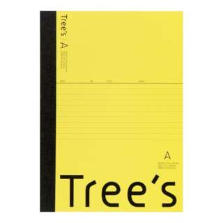 Trees B5 A罫30枚 イエロー イエロー UTR3AY