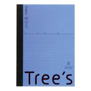 Trees B5 B罫30枚 ネイビー ネイビー UTR3BNB