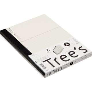 Trees B5 A罫30枚 5冊 UTR3A05