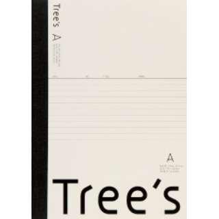 Trees B5 A罫50枚 クリーム クリーム UTR5AC