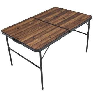 Tracksleeper ディナーテーブル 12080(幅120×奥行80×高さ68/35cm) 73188006