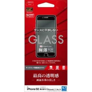 iPhone SE(第2世代)4.7インチ/8/7/6s/6共用 パネル AGC製 0.2mm GP2322IP047 ガラス光沢