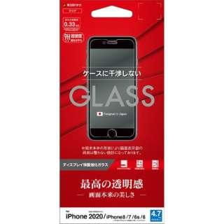 iPhone SE(第2世代)4.7インチ/8/7/6s/6共用 パネル AGC製 0.33mm GP2323IP047 ガラス光沢