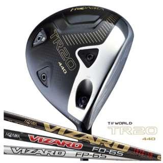 ドライバー T//WORLD TR20-440 9.5°《VIZARD TR20-50 シャフト》S